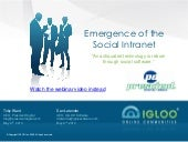 Emergence of the Social Intranet