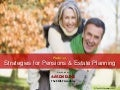 Webinar slides - Strategies for pensions & estate planning