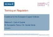 Electricity Markets Regulation - Le...