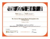 The Crisis of Aboriginal Women Enta...