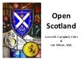 Open Scotland Webinar 2 April 2014