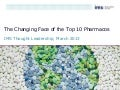 The Changing Face of the Top 10 Pharmacos