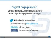 Digital Engagement: 5 Steps to Build, Analyze & Measure Your Digital Engagement Strategy