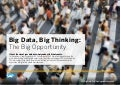 Big Data, Big Thinking: The Big Opportunity