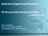 Hit the ground running with BPM - a starters kit
