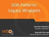 SOA Pattern : Legacy Wrappers