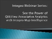 QlikView and Location / Map Intelli...