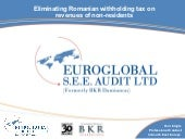 Webinar Slides Romania Withholding Tax