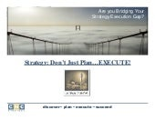 Webinar - Strategy: Dont Just Plan....