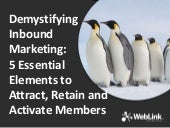 Demystifying Inbound Marketing: 5 E...
