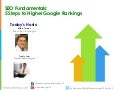 5 Steps to Higher Google Rankings