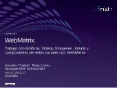 Web matrix session 3