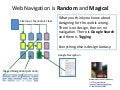 Web Navigation is Magical and Random - McElhenney
