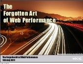 Web performance at WDCNZ