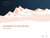 Introduction to web security @ conf...