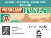 Website Performance, Engagement, an...