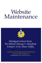 Website Maintenance Explained (abri...