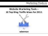 Website Marketing Tools – 10 Top Bl...