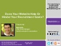 Career Sites, Recruiting Strategy & The Candidate Experience