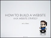 Website strategy - How to build a fun website that works