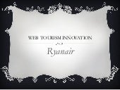 Web  tourism innovation