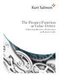 kurt salmon-the finance function as value-driver-m.mercusot-m.leon