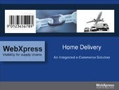 Web xpress Home Delivery Solution (HDS)