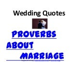 Wedding sayings