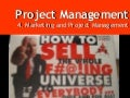 Week 05 - Marketing and Project Management