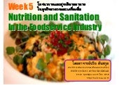 Week 5 Nutrition And Sanitation In ...