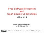 Free Software Movement and Open Sou...