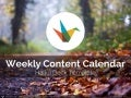 Weekly Content Calendar Template