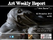 Art Weekly Report_2 dicembre 2013