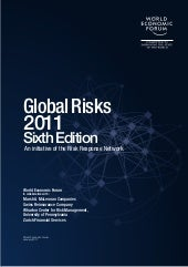 WEF Global risks report 2011