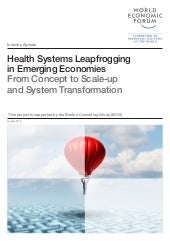 Health Systems Leapfrogging in Emerging Economies From Concept to Scale-up and System Transformation