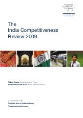 Wef india competitiveness report 2009