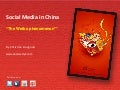 Weibo, social media phenomenon in China