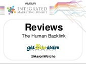 Online Reviews - The Human Backlink in SEO