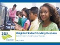 Weighted Student Funding Overview