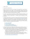 Welcome letter 2013