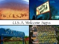 USA Welcome Signs