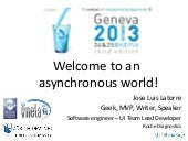 Welcome to an asynchronous world 1.29s