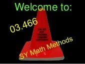 Welcome to sy math methods