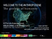 Welcome to the anthropocene: geolog...