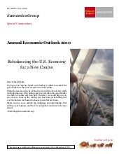 Wells Fargo 2010 Annual Outlook