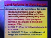 Achievement Of West Bengal {Land Reforms in West Bengal} by Aneek Gupta