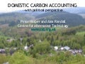 Domestic Carbon Accounting | Peter Harper  and Alex Randall