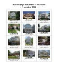 West Orange NJ Real Estate Sales: November 2011