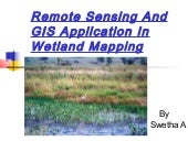 Remote Sensing And GIS Application ...