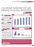CSIL World furniture outlook. Insights on global production